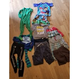 Big 4T Boys Clothing Bundle